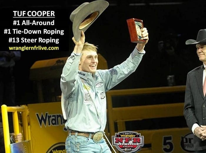 Tuf Cooper No 1 back number