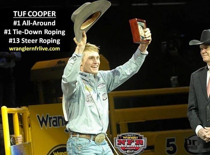 Tuf Cooper No 1 back number