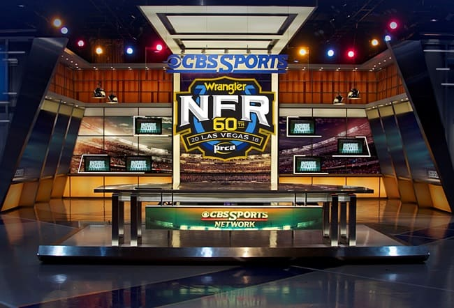 What TV Channel is the NFR on Tv