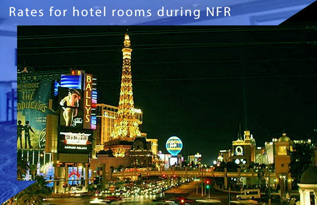 Hotel Price during the Las Vegas NFR