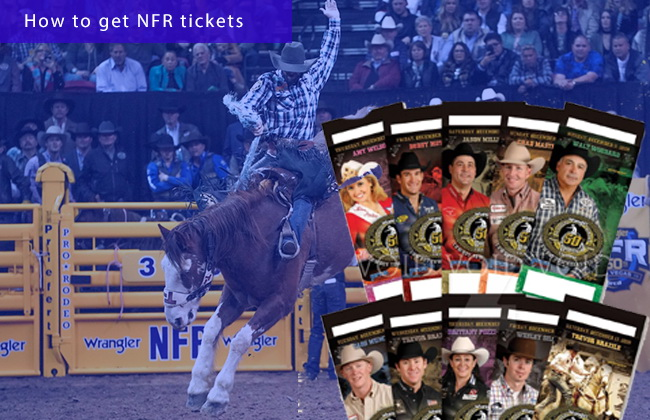 Purchase NFR ticket