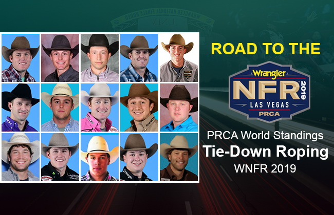 NFR Tie-Down Roping qualifiers