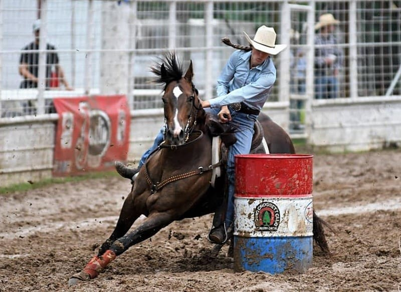 Veterans Rookie Emily Taylor Outruns in Crossett