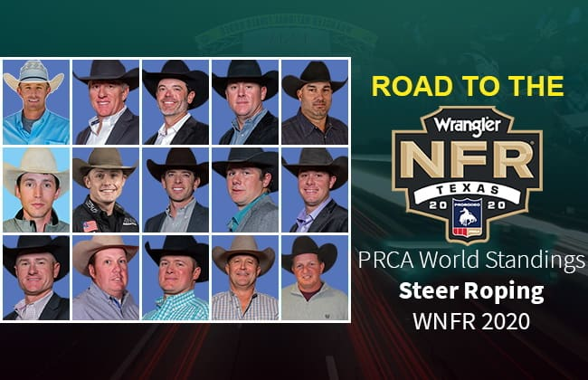 Steer Roping Back Numbers Released
