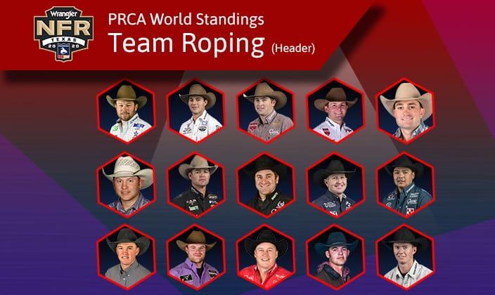 NFR Team Roping Headers