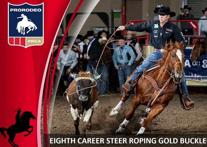 Trevor Brazile became eight-time steer roping world champion