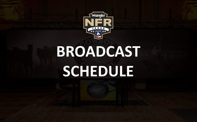 Broadcast NFR 2020 Lineup