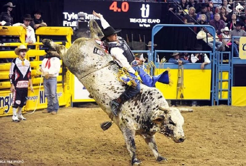Bull rider Tyler Smith