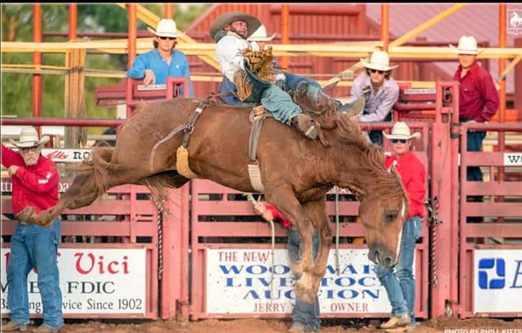 Ageless wonder Will Lowe bareback riding