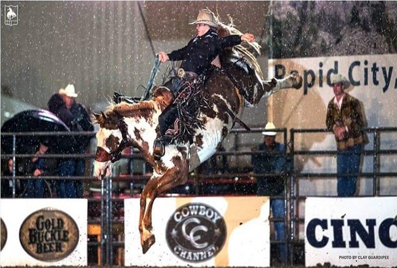 Dawson Hay wins PRCA Xtreme Broncs